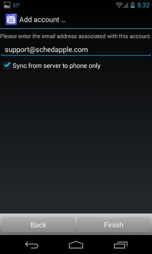 Android setup 4