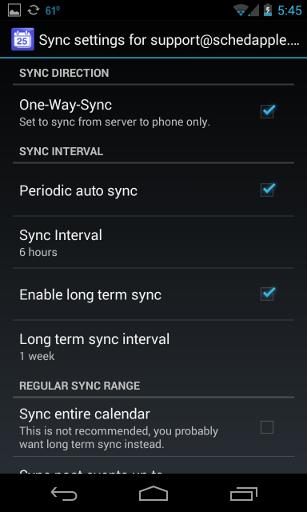Android setup 6